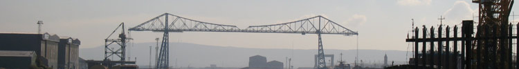 The Transporter Bridge Middlesbrough