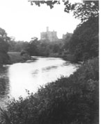 The Coquet and Warkworth Castle